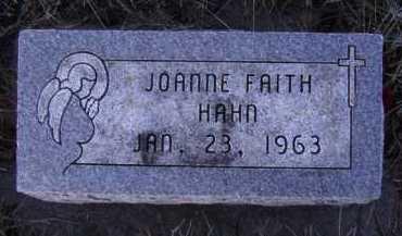 HAHN, JOANNE FAITH - Moody County, South Dakota   JOANNE FAITH HAHN - South Dakota Gravestone Photos