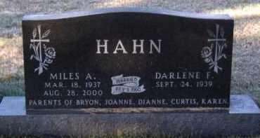 HAHN, DARLENE F - Moody County, South Dakota | DARLENE F HAHN - South Dakota Gravestone Photos