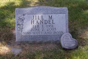 HANDEL, JILL M - Moody County, South Dakota   JILL M HANDEL - South Dakota Gravestone Photos