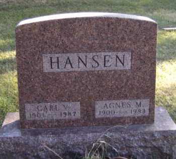 HANSEN, CARL V - Moody County, South Dakota | CARL V HANSEN - South Dakota Gravestone Photos
