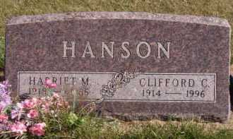 HANSON, HARRIET M - Moody County, South Dakota | HARRIET M HANSON - South Dakota Gravestone Photos