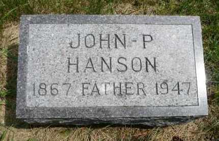 HANSON, JOHN P. - Moody County, South Dakota | JOHN P. HANSON - South Dakota Gravestone Photos