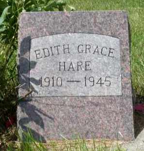HARE, EDITH GRACE - Moody County, South Dakota | EDITH GRACE HARE - South Dakota Gravestone Photos