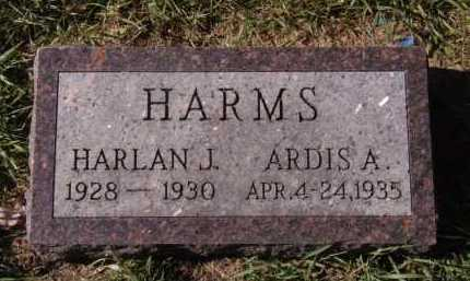 HARMS, HARLAN J - Moody County, South Dakota | HARLAN J HARMS - South Dakota Gravestone Photos