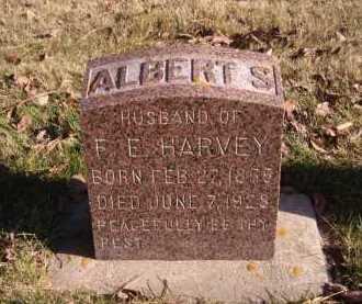HARVEY, ALBERT S - Moody County, South Dakota | ALBERT S HARVEY - South Dakota Gravestone Photos