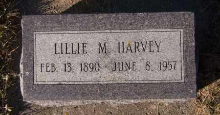 HARVEY, LILLIE M - Moody County, South Dakota | LILLIE M HARVEY - South Dakota Gravestone Photos