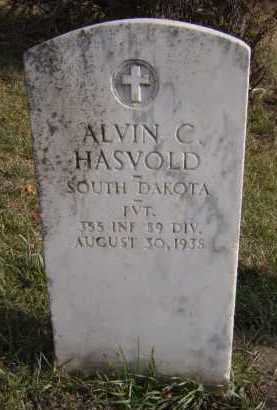 HASVOLD, ALVIN C (MILITARY) - Moody County, South Dakota | ALVIN C (MILITARY) HASVOLD - South Dakota Gravestone Photos