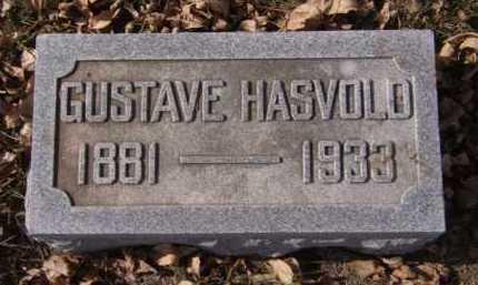 HASVOLD, GUSTAVE - Moody County, South Dakota   GUSTAVE HASVOLD - South Dakota Gravestone Photos