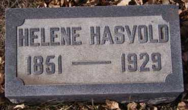 HASVOLD, HELENE - Moody County, South Dakota   HELENE HASVOLD - South Dakota Gravestone Photos
