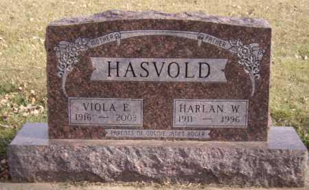 HASVOLD, VIOLA E - Moody County, South Dakota | VIOLA E HASVOLD - South Dakota Gravestone Photos