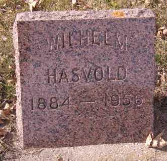 HASVOLD, WILHELM - Moody County, South Dakota | WILHELM HASVOLD - South Dakota Gravestone Photos