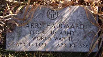 HAUGAARD, HARRY - Moody County, South Dakota | HARRY HAUGAARD - South Dakota Gravestone Photos