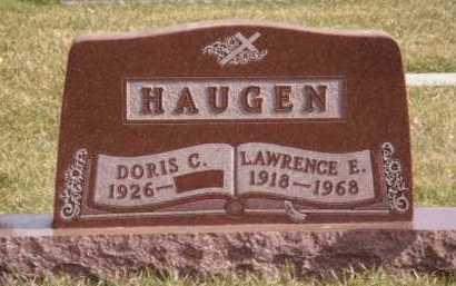 HAUGEN, LAWRENCE E - Moody County, South Dakota   LAWRENCE E HAUGEN - South Dakota Gravestone Photos