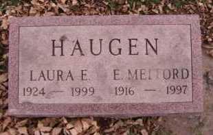 HAUGEN, E MELFORD - Moody County, South Dakota | E MELFORD HAUGEN - South Dakota Gravestone Photos