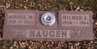 HAUGEN, HILMER E - Moody County, South Dakota | HILMER E HAUGEN - South Dakota Gravestone Photos