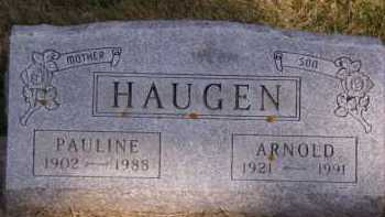 HAUGEN, PAULINE - Moody County, South Dakota | PAULINE HAUGEN - South Dakota Gravestone Photos