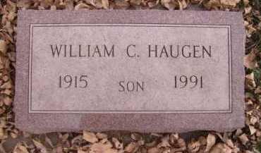 HAUGEN, WILLIAM C - Moody County, South Dakota | WILLIAM C HAUGEN - South Dakota Gravestone Photos
