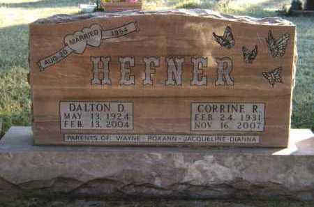 HEFNER, CORRINE R - Moody County, South Dakota   CORRINE R HEFNER - South Dakota Gravestone Photos