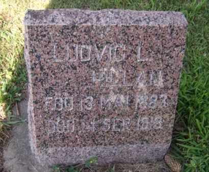 HILLAN, LUDVIG L. - Moody County, South Dakota | LUDVIG L. HILLAN - South Dakota Gravestone Photos