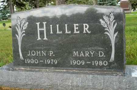 HILLER, MARY D. - Moody County, South Dakota   MARY D. HILLER - South Dakota Gravestone Photos