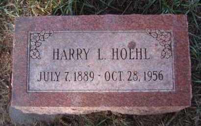 HOEHL, HARRY L - Moody County, South Dakota | HARRY L HOEHL - South Dakota Gravestone Photos
