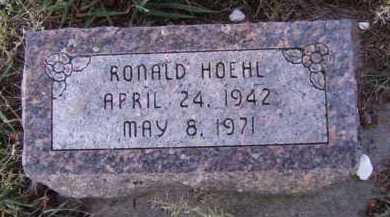 HOEHL, RONALD - Moody County, South Dakota | RONALD HOEHL - South Dakota Gravestone Photos