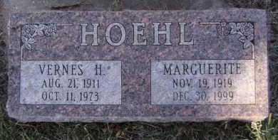 HOEHL, VERNES H - Moody County, South Dakota   VERNES H HOEHL - South Dakota Gravestone Photos