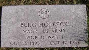 HOLBECK, BERG - Moody County, South Dakota | BERG HOLBECK - South Dakota Gravestone Photos