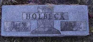 HOLBECK, WILBUR - Moody County, South Dakota | WILBUR HOLBECK - South Dakota Gravestone Photos