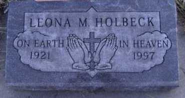 HOLBECK, LEONA M - Moody County, South Dakota | LEONA M HOLBECK - South Dakota Gravestone Photos