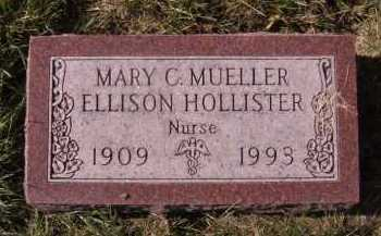 MUELLER HOLLISTER, MARY C - Moody County, South Dakota | MARY C MUELLER HOLLISTER - South Dakota Gravestone Photos