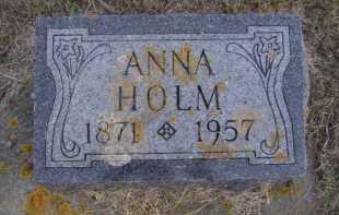 HOLM, ANNA - Moody County, South Dakota | ANNA HOLM - South Dakota Gravestone Photos