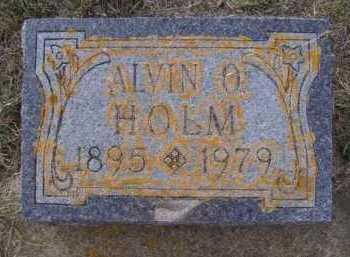 HOLM, ALVIN O - Moody County, South Dakota | ALVIN O HOLM - South Dakota Gravestone Photos