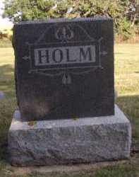 HOLM, FAMILY - Moody County, South Dakota | FAMILY HOLM - South Dakota Gravestone Photos