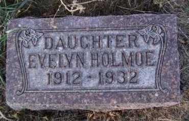 HOLMOE, EVELYN - Moody County, South Dakota | EVELYN HOLMOE - South Dakota Gravestone Photos