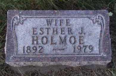 HOLMOE, ESTHER J - Moody County, South Dakota | ESTHER J HOLMOE - South Dakota Gravestone Photos