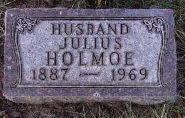 HOLMOE, JULIUS - Moody County, South Dakota   JULIUS HOLMOE - South Dakota Gravestone Photos