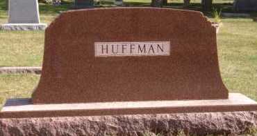 HUFFMAN, FAMILY - Moody County, South Dakota | FAMILY HUFFMAN - South Dakota Gravestone Photos