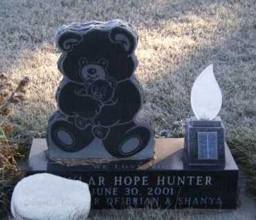 HUNTER, SKYLER HOPE - Moody County, South Dakota | SKYLER HOPE HUNTER - South Dakota Gravestone Photos