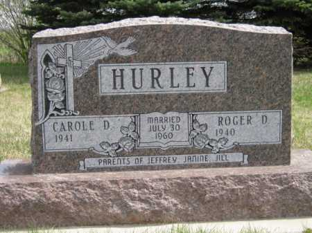 HURLEY, ROGER D - Moody County, South Dakota | ROGER D HURLEY - South Dakota Gravestone Photos