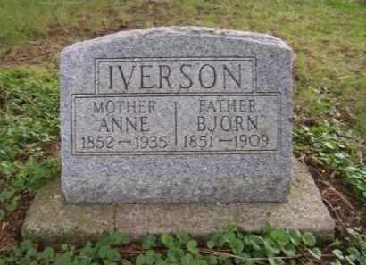 IVERSON, ANNE - Moody County, South Dakota | ANNE IVERSON - South Dakota Gravestone Photos