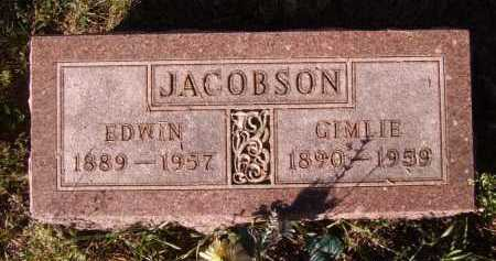 JACOBSON, EDWIN - Moody County, South Dakota | EDWIN JACOBSON - South Dakota Gravestone Photos