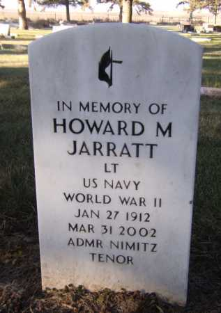 JARRATT, HOWARD M - Moody County, South Dakota | HOWARD M JARRATT - South Dakota Gravestone Photos