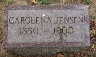 JENSEN, CAROLENA - Moody County, South Dakota   CAROLENA JENSEN - South Dakota Gravestone Photos