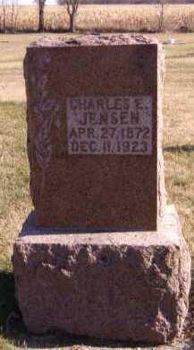 JENSEN, CHARLES E - Moody County, South Dakota | CHARLES E JENSEN - South Dakota Gravestone Photos
