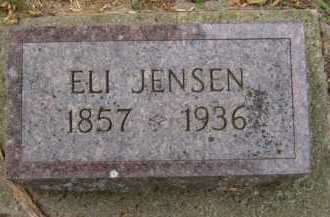 JENSEN, ELI - Moody County, South Dakota   ELI JENSEN - South Dakota Gravestone Photos