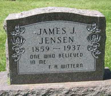 JENSEN, JAMES J - Moody County, South Dakota | JAMES J JENSEN - South Dakota Gravestone Photos