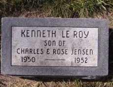 JENSEN, KENNETH LEROY - Moody County, South Dakota   KENNETH LEROY JENSEN - South Dakota Gravestone Photos