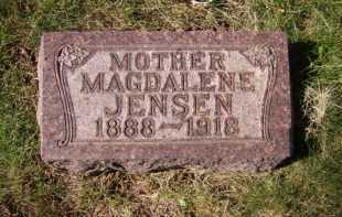 JENSEN, MAGDALENE - Moody County, South Dakota | MAGDALENE JENSEN - South Dakota Gravestone Photos