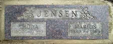 JENSEN, THORA - Moody County, South Dakota | THORA JENSEN - South Dakota Gravestone Photos